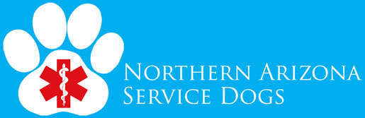 Northern Arizona Service Dogs Logo Banner Image